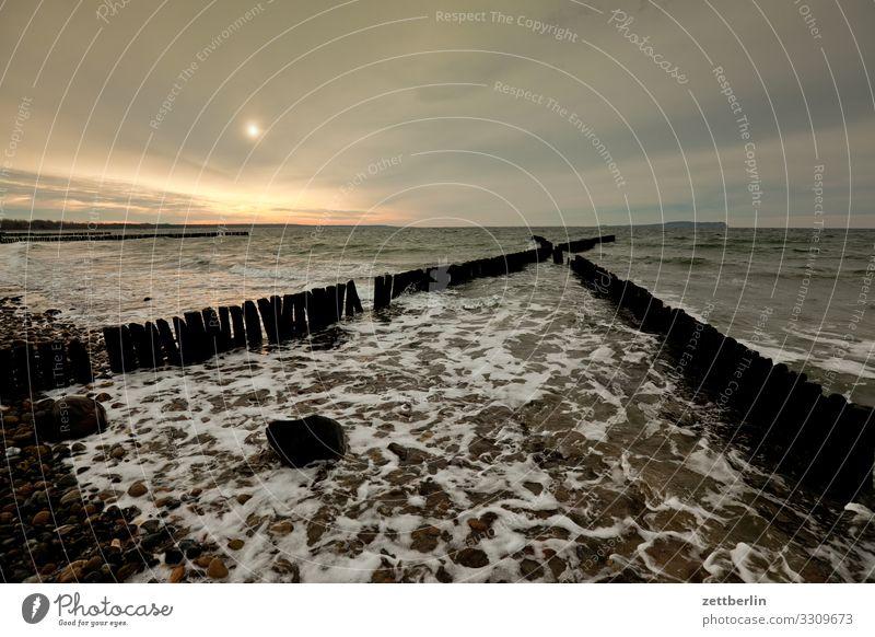 Sky Vacation & Travel Heaven Water Landscape Sun Ocean Clouds Far-off places Coast Copy Space Horizon Waves Island Wind Longing