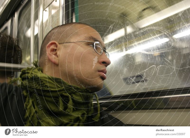 Man Window Eyeglasses Underground Skinhead