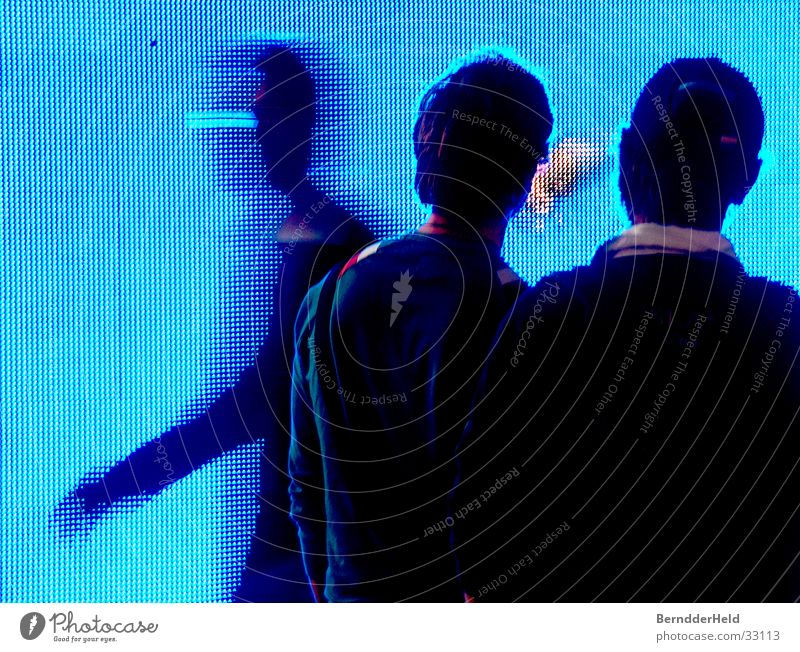 Blue Movement Group Large Screen Church service Trade fair Exhibition Pixel LCD Photokina