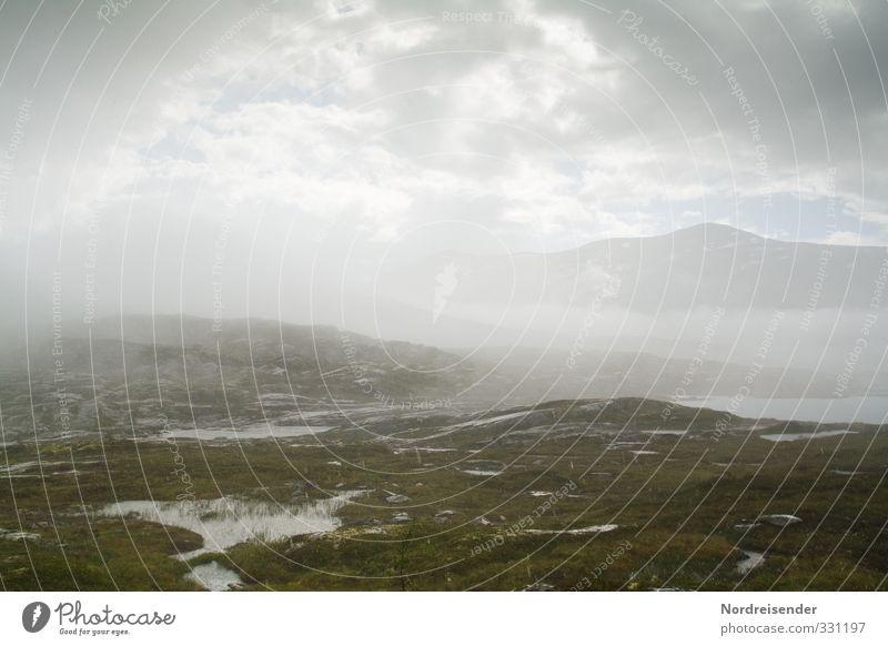 Water Sun Landscape Clouds Mountain Lake Moody Rain Fog Hiking Gloomy Wait Climate Wet Elements Hope