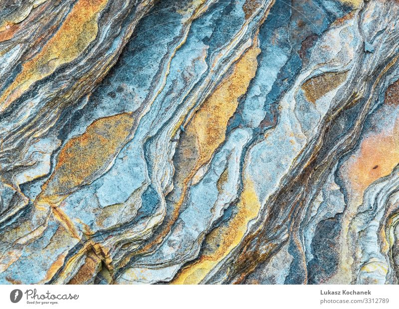 Rock layers - a colorful formations of rocks stacked Design Beautiful Nature Earth Canyon Stone Old Natural Brown Gray Green attraction background cambrian