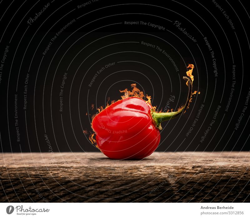 Red Food Fruit Dangerous Herbs and spices Tangy Organic produce Vegetarian diet Wooden table Burn Flame Raw Pepper Chili Spicy Gourmet