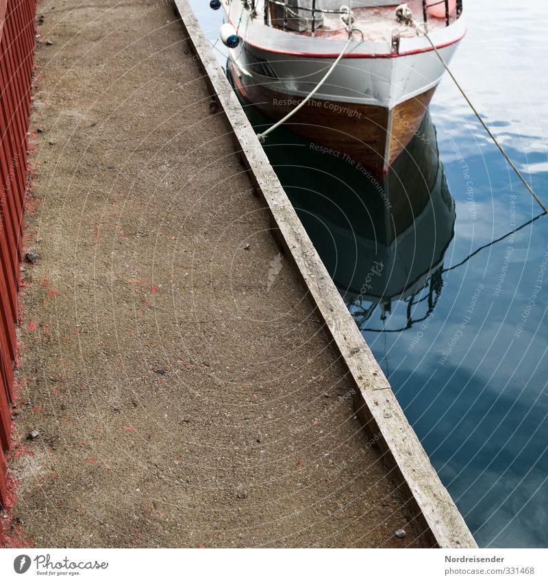 Half things, Angeleint. Vacation & Travel Sightseeing Summer Ocean Water Navigation Yacht Motorboat Watercraft Rope Concrete Wait Wanderlust Beginning Freedom