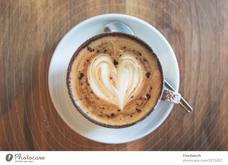 Cappuccino pleasure To have a coffee Hot drink Coffee Cup Happy Relaxation Calm Drinking To enjoy To talk Sit Esthetic Fragrance Fluid Good Delicious Brown