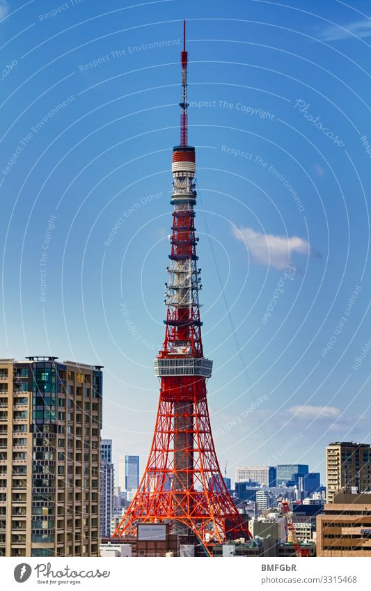 tokyo tower Vacation & Travel Tourism Trip Far-off places Sightseeing City trip Advancement Future Tokyo Japan Asia Capital city Downtown Tower