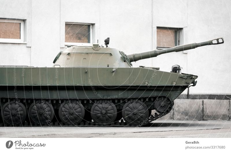 military army equipment armored tank on a city street in Ukraine House (Residential Structure) Building Transport Street Threat Protection War Crimea Armour