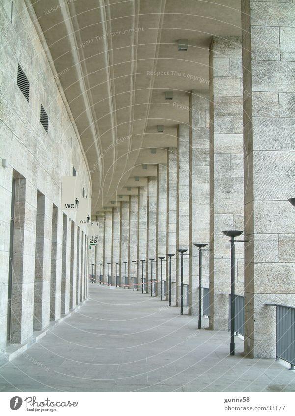 long corridor Torch Passage Historic Escape Stone Marble Toilet Lanes & trails Column Arcade Corridor