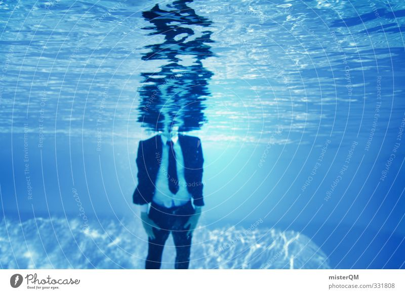 Blue Water Joy Style Business Art Leisure and hobbies Elegant Contentment Design Lifestyle Crazy Perspective Esthetic Creativity Idea