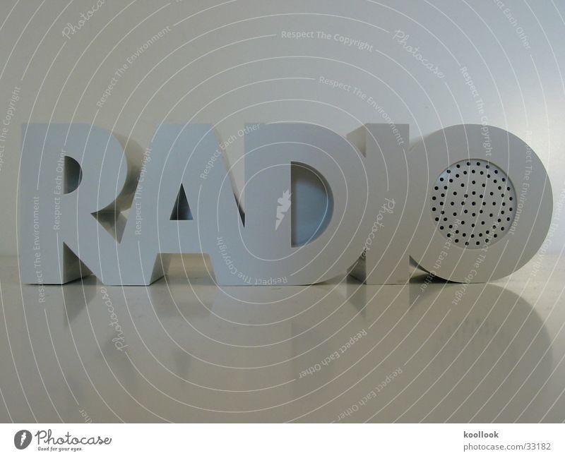 RADIO RADIO White Seventies Retro Things Design Obscure Music Sound Radio (broadcasting)