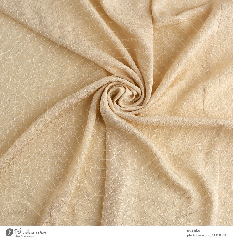 beige satin textile fabric Luxury Elegant Design Fashion Cloth Bright Natural Soft Gold Colour Satin Silk cream Beige Curve romantic Fold Canvas Groove Ripple