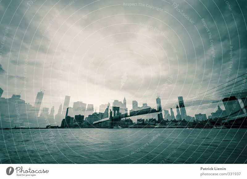 City High-rise Skyline Downtown Identity Innovative Decadence