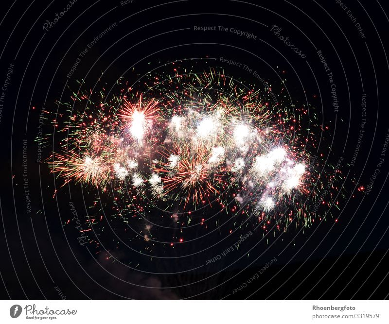 fireworks Leisure and hobbies Playing Night life Entertainment Party Event Feasts & Celebrations New Year's Eve Fairs & Carnivals Shows Fire Night sky Stars Fog
