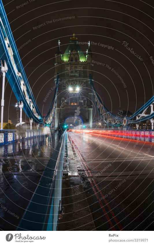 Traffic on Tower Bridge. Vacation & Travel Nature Architecture Lifestyle Environment Style Art Tourism Design Transport Weather Esthetic Industry Climate