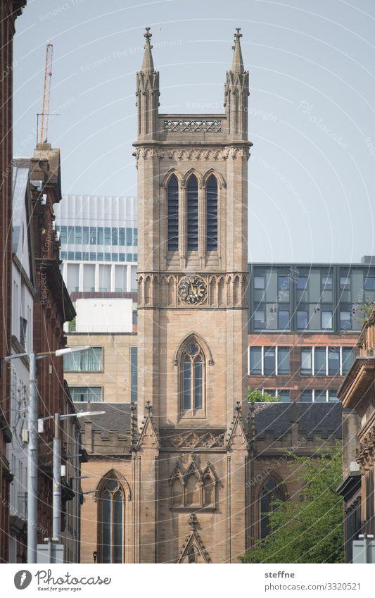 Church Esthetic Old town Theatre Gothic period Glasgow