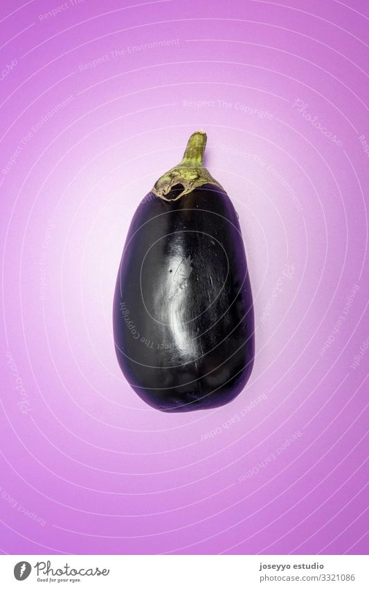 Eggplant on vibrant purple background Agriculture anthocyanins antioxidant Aubergine Carbohydrates Cholesterol colorful Cooking diuretics Erection Fiber