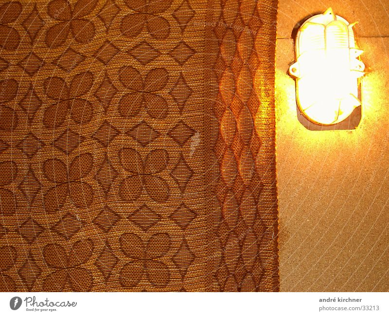 In the cellar Carpet Pattern Lamp Light Geometry Wall (building) Living or residing