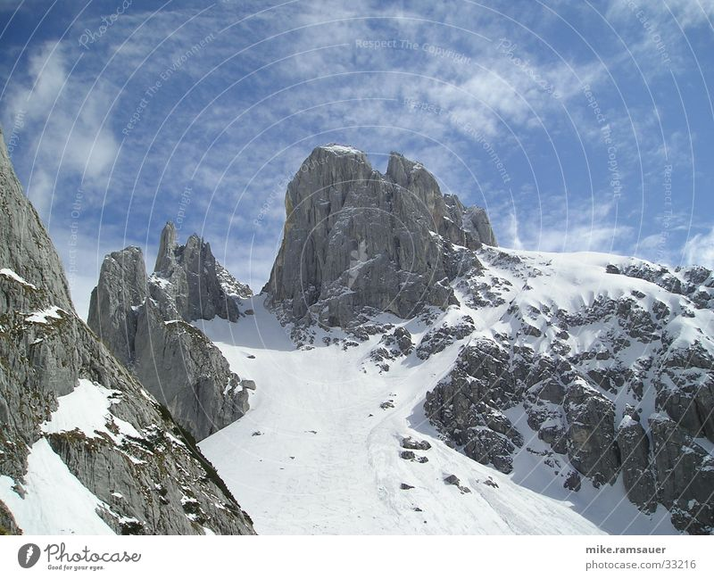 Winter Snow Mountain Climbing Snowscape Mountaineering Sky blue