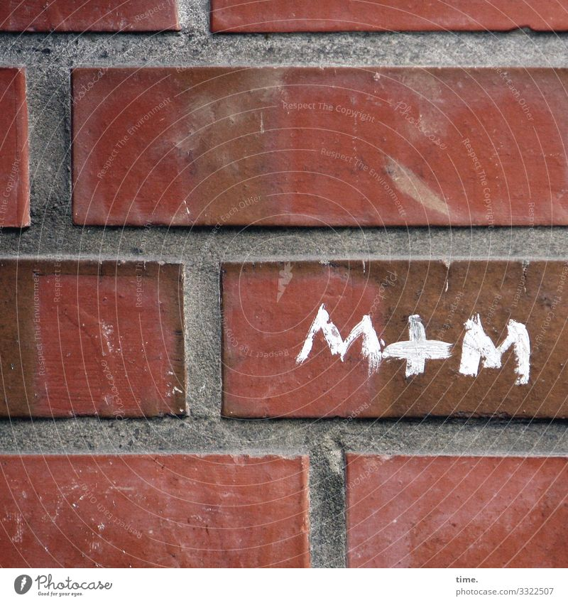 Town Life Wall (building) Love Emotions Wall (barrier) Stone Together Friendship Moody Line Characters Signs and labeling Creativity Romance