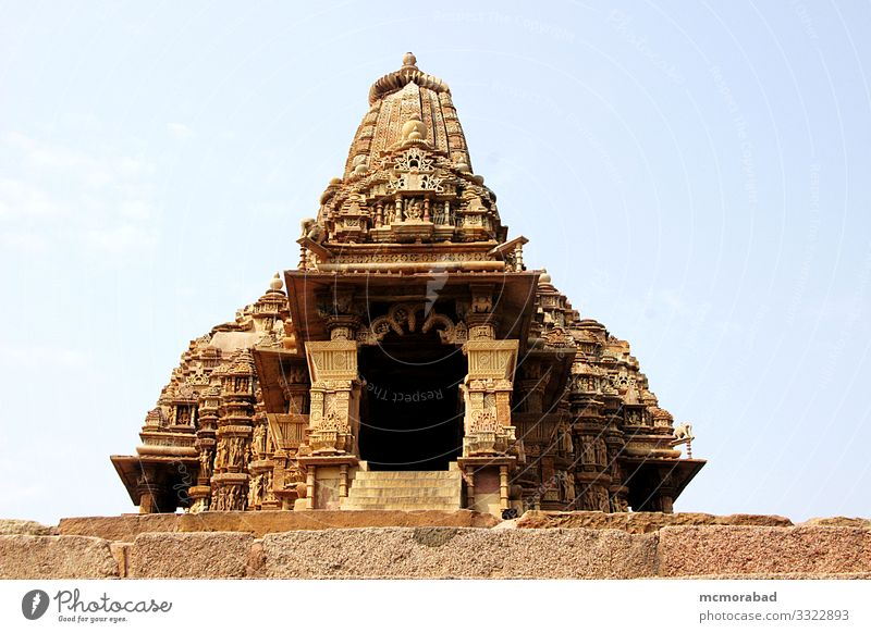 Kandariya Mahadev Temple Vacation & Travel Places Monument Art Horizontal Asia India Madhya Pradesh Khajuraho Western Group of Temples world heritage site