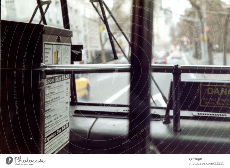 Street Line Park Sit Railroad Transport Open Driving USA Forwards Vantage point Station Americas Mobility Bus Window pane