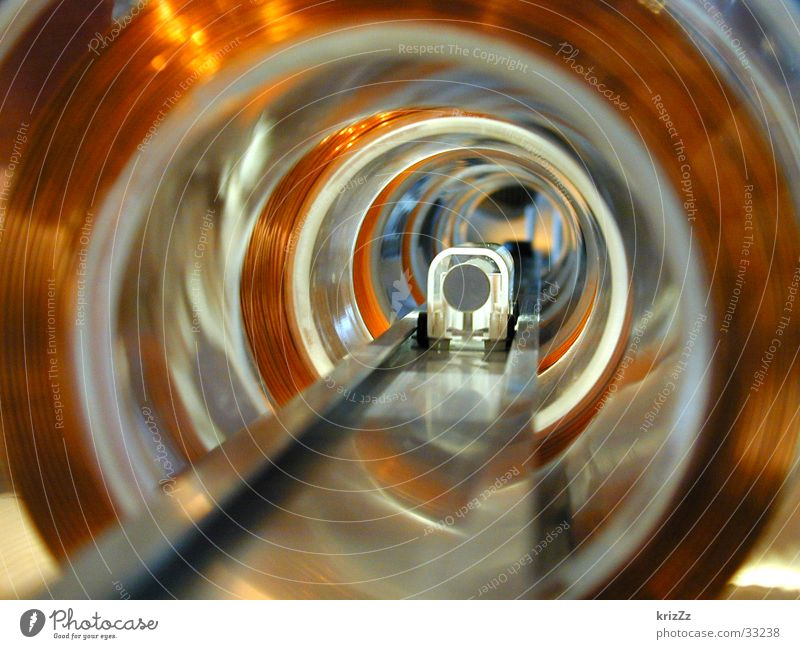 Industry Electricity Technology Physics Science & Research England Tunnel Iron-pipe Wire London Underground Copper Whorl Magnet Electrical equipment Electromagnet