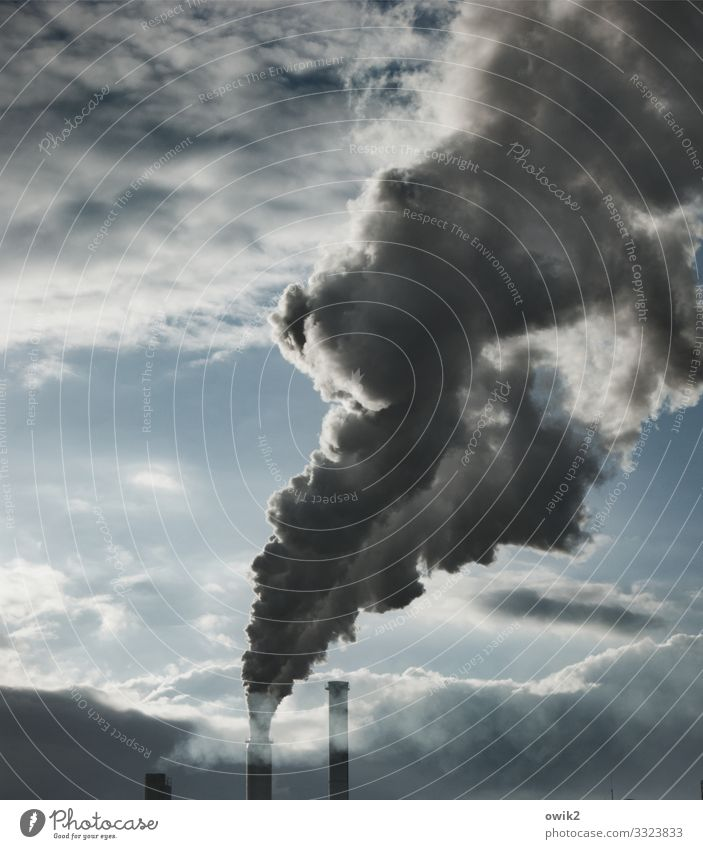 Sky Clouds Dark Dirty Energy industry Infinity Smoke Factory Creepy Economy Chimney Environmental pollution Disaster Apocalyptic sentiment Thermal power station