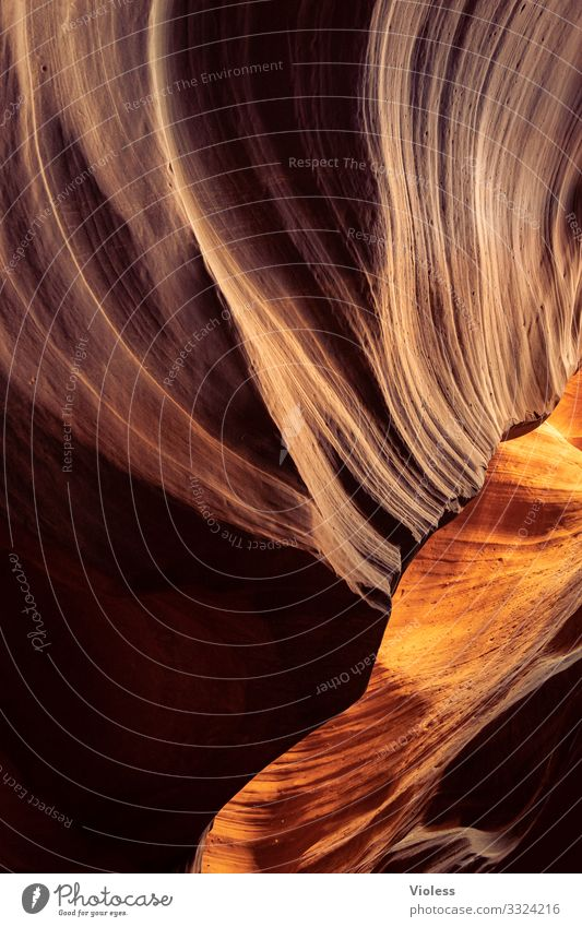 Wormhole II Antelope Canyon Page USA Nature Arizona Lake Powel Navajo Reservation North America Stone