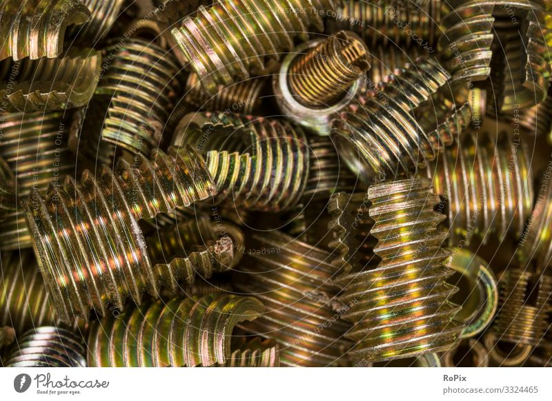 Zinc plated threaded bushes. Leisure and hobbies Model-making Education Science & Research Adult Education Work and employment Profession Workplace