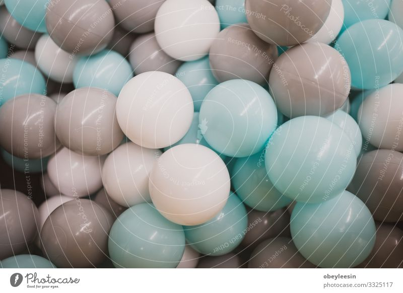 A collection of colored plastic balls Joy Happy Swimming pool Leisure and hobbies Playing Sports Baby Playground Toys Happiness Together Small Cute Many White