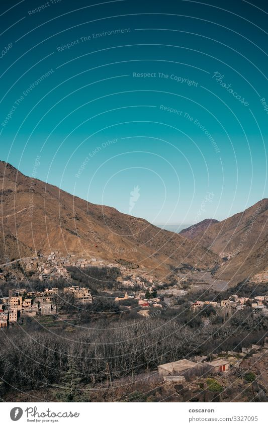 The Atlas Mountains of Morocco, Berber villages Beautiful Vacation & Travel Tourism Adventure Summer Summer vacation Hiking House (Residential Structure) Nature