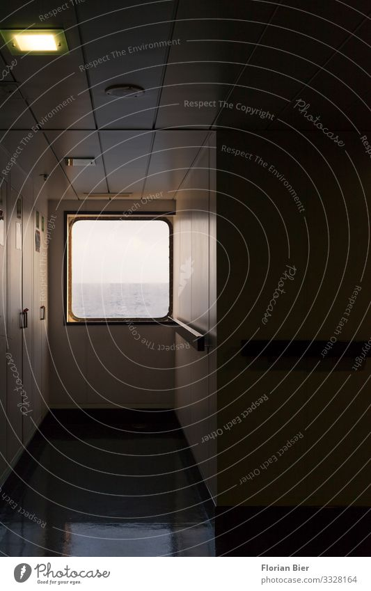 Window to the sea Water Horizon Navigation Cruise Movement Discover Driving Looking To swing Dark Maritime Anticipation Serene Calm Curiosity Adventure