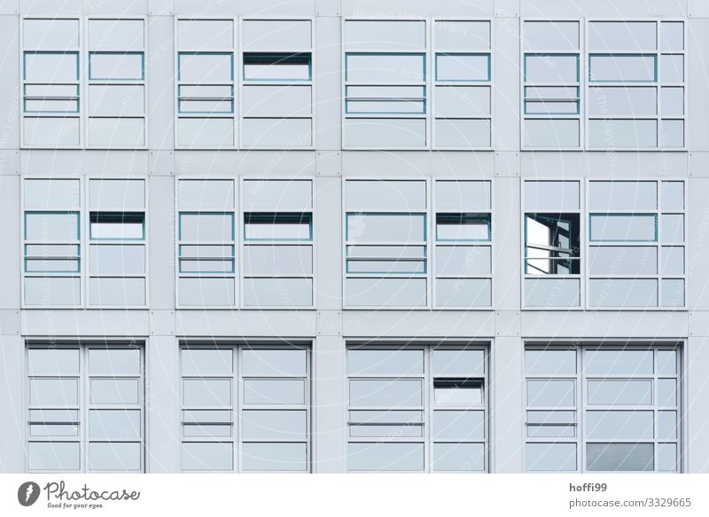 window facade House (Residential Structure) High-rise Bank building Architecture Wall (barrier) Wall (building) Facade Window Esthetic Sharp-edged Glittering