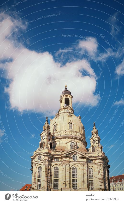 Celebrity Sky Clouds Frauenkirche Downtown Church Manmade structures Building Window Tourist Attraction Landmark Famousness Large Historic Tall Town