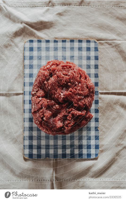 ground pork on board Food Meat Sausage Minced meat Nutrition Lunch Dinner Buffet Brunch Organic produce Slow food Hamburger chopped roast Butcher minced beef