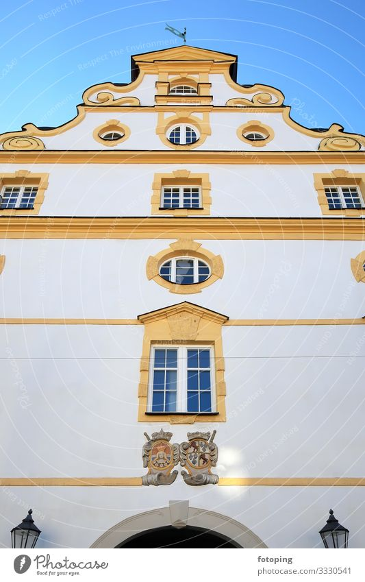 Kempten Beautiful Tourism Trip Sightseeing City trip Summer Sun Weather Town Old town Architecture Tourist Attraction Landmark Monument Historic Blue Allgäu