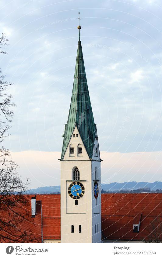 Kempten Tourism Trip Sightseeing City trip Town Old town Architecture Tourist Attraction Landmark Monument Historic Religion and faith Allgäu Destination