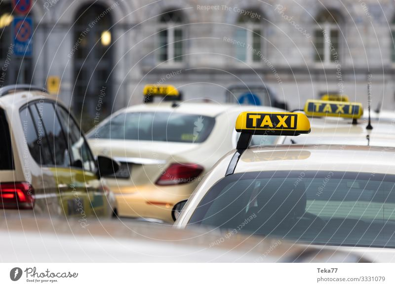 #Taxi Transport Means of transport Traffic infrastructure Motoring Adventure Taxi rank Colour photo Exterior shot