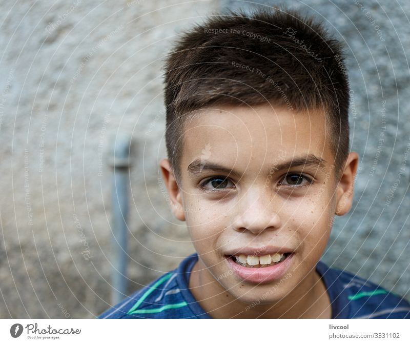 handsome lad in the streets of camaguey , cuba Child Human being Vacation & Travel Blue Beautiful Black Face Street Eyes Lifestyle Natural Emotions Happy Style