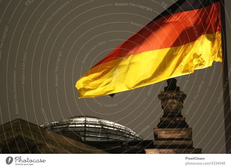 Bundestag in Berlin Architecture Glass Sony Center Berlin Capital city Modern Town Colour photo