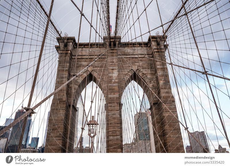 Brooklyn Bridge New York City USA Manmade structures