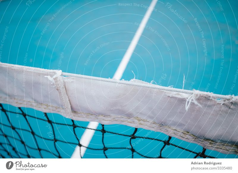 Vintage blue court tennis net Joy Relaxation Playing Wallpaper Club Disco Sports Success Rope Line Touch Fitness Competition Lose Tennis Court building Practice