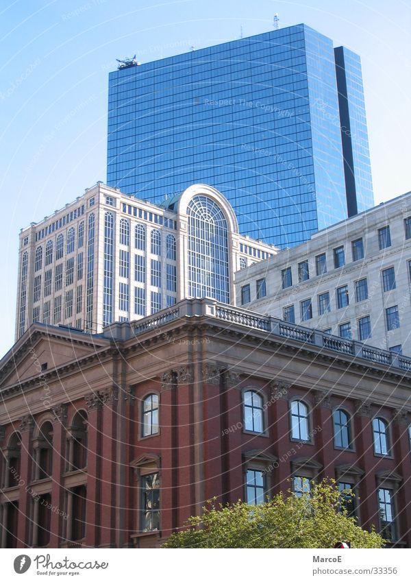 Building Architecture High-rise Boston Massachusetts John Hancock Tower