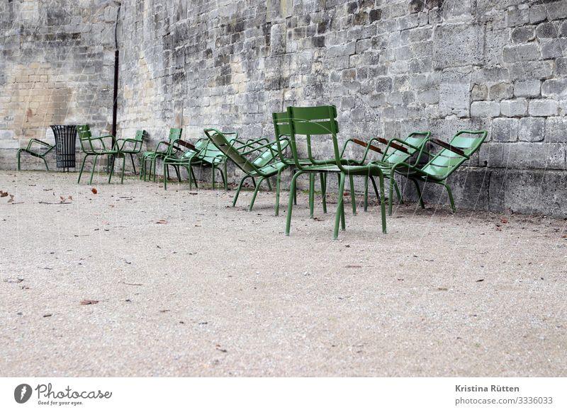 tuileries chairs Vacation & Travel City trip Park Paris Town Capital city Sit Green Calm Chair Tuileries Jardin des Tuileries Empty Off-Season unmanned Wait