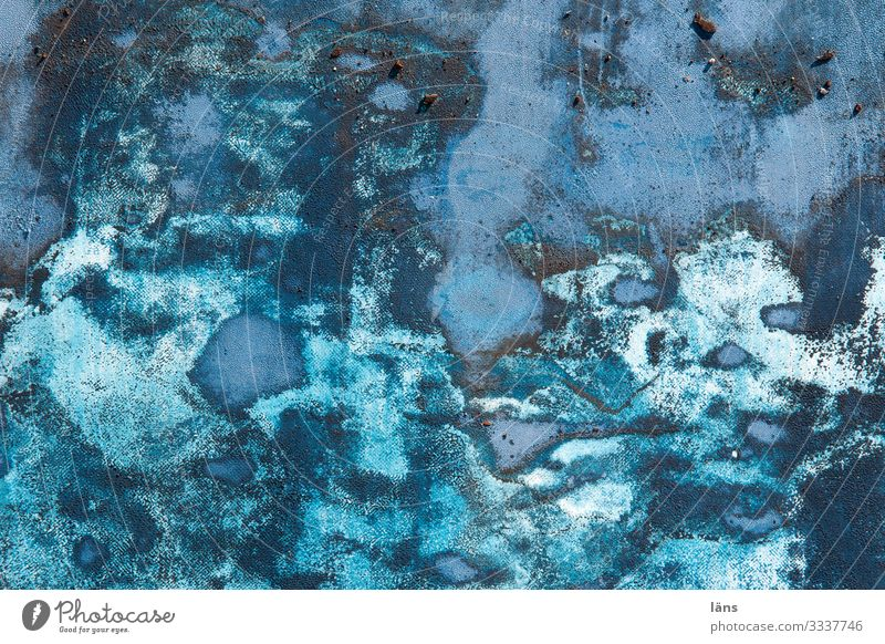 Maritime Hamburg Port of Hamburg Blue Uniqueness Play of colours Colour palette Blaze of colour Turquoise Colour photo Exterior shot Detail Abstract Pattern
