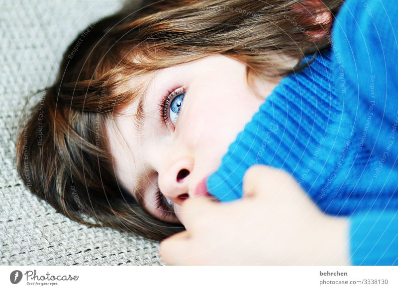far away | dreaming away Daydreamer lost in thought Dream Dreamily Family & Relations Child Boy (child) Infancy Intensive Meditative Longing Interior shot