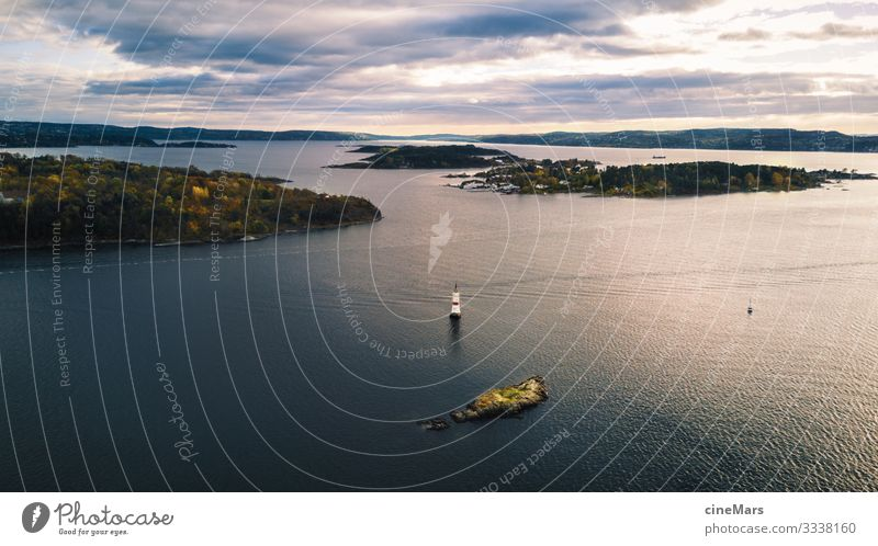 Oslo Harbour Vacation & Travel Tourism Sightseeing Expedition Island Environment Nature Landscape Water Sky Clouds Sunlight Tree Meadow Forest Waves Coast Ocean