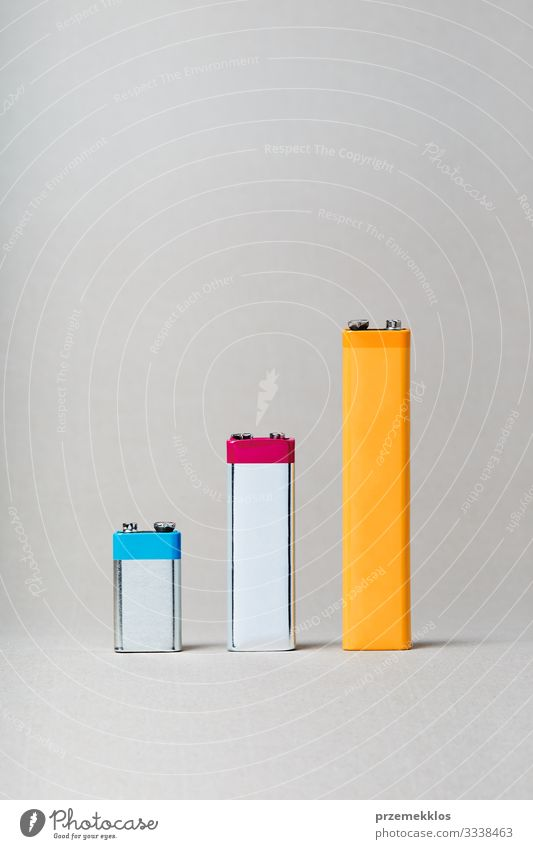 Chart bars displaying increase of batteries recycling Environment Old Growth Green Energy Advancement Considerate Idea Environmental pollution
