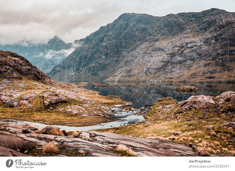 Loch Coruisk on the Isle of Skye Vacation & Travel Tourism Trip Adventure Far-off places Freedom Mountain Hiking Environment Nature Landscape Plant Spring