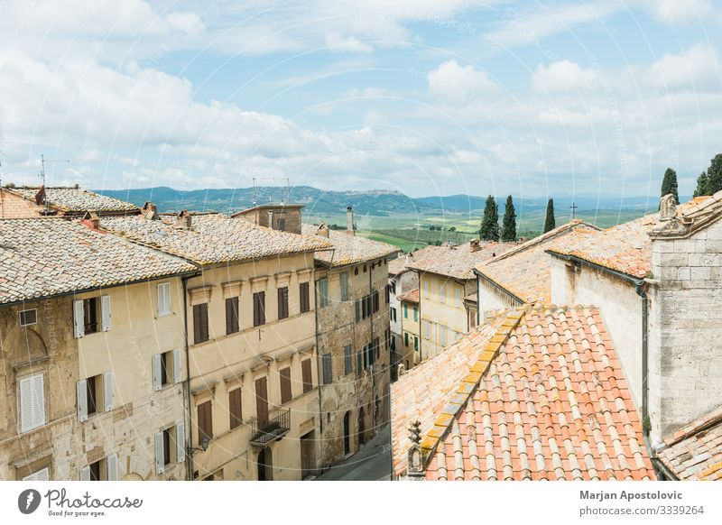 Cityscape of San Quirico d'Orcia in Tuscany Vacation & Travel Tourism Trip Sightseeing City trip Landscape Italy Europe Village Old town Skyline