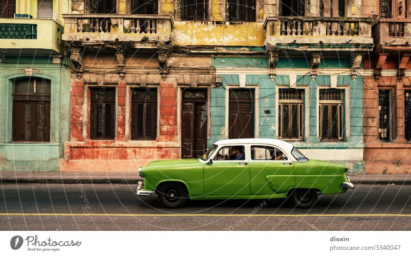 The colors of Havana Vacation & Travel Tourism Sightseeing City trip Cuba Central America Caribbean Town Capital city Port City Downtown Old town